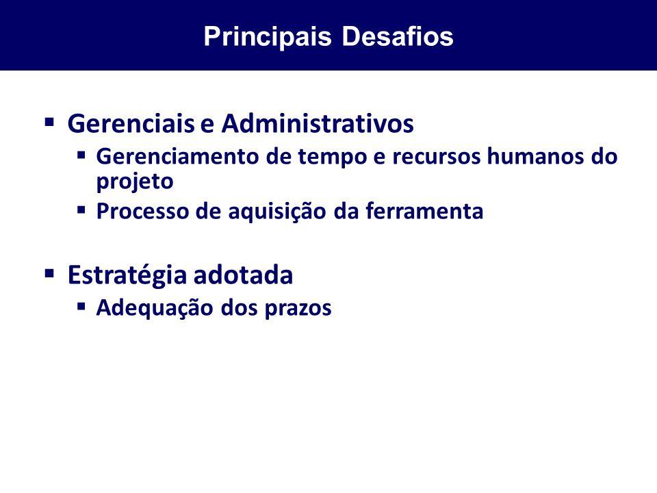 Gerenciais e Administrativos