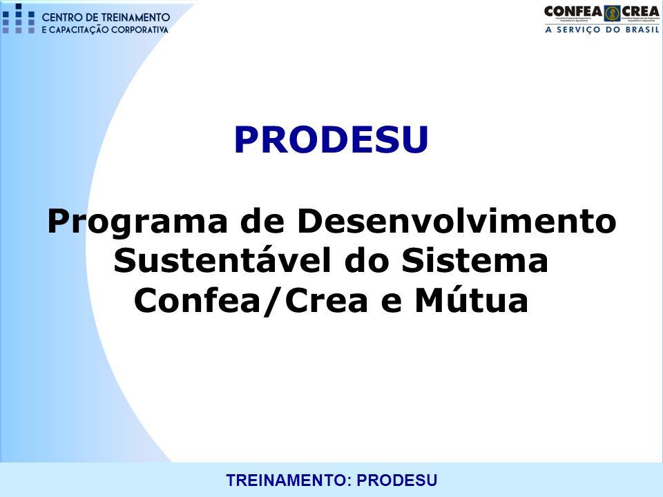 Programa de Desenvolvimento Sustentável do Sistema Confea/Crea e Mútua