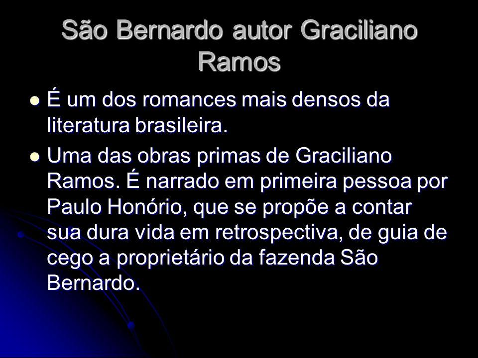 São Bernardo autor Graciliano Ramos
