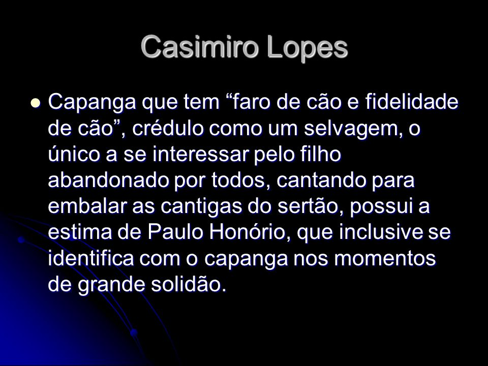 Casimiro Lopes