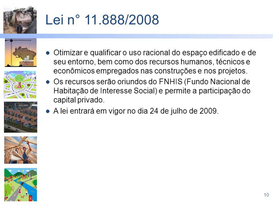 Lei n° 11.888/2008
