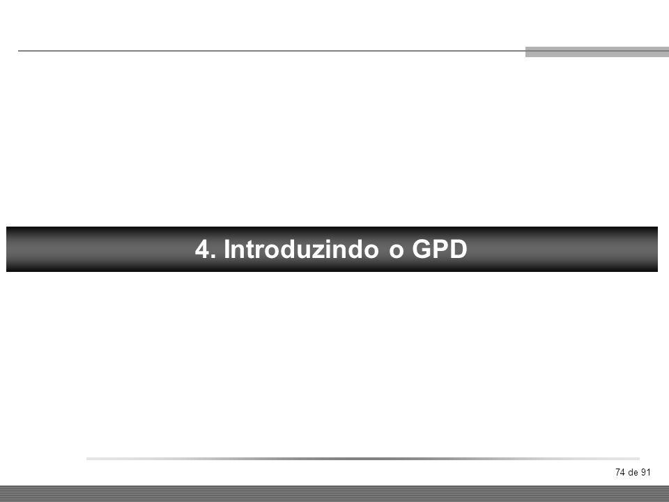 FORÇA 4. Introduzindo o GPD