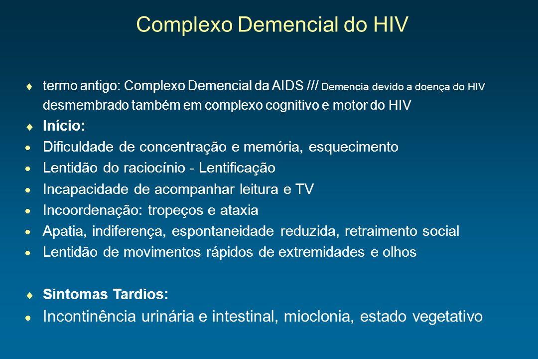 Complexo Demencial do HIV