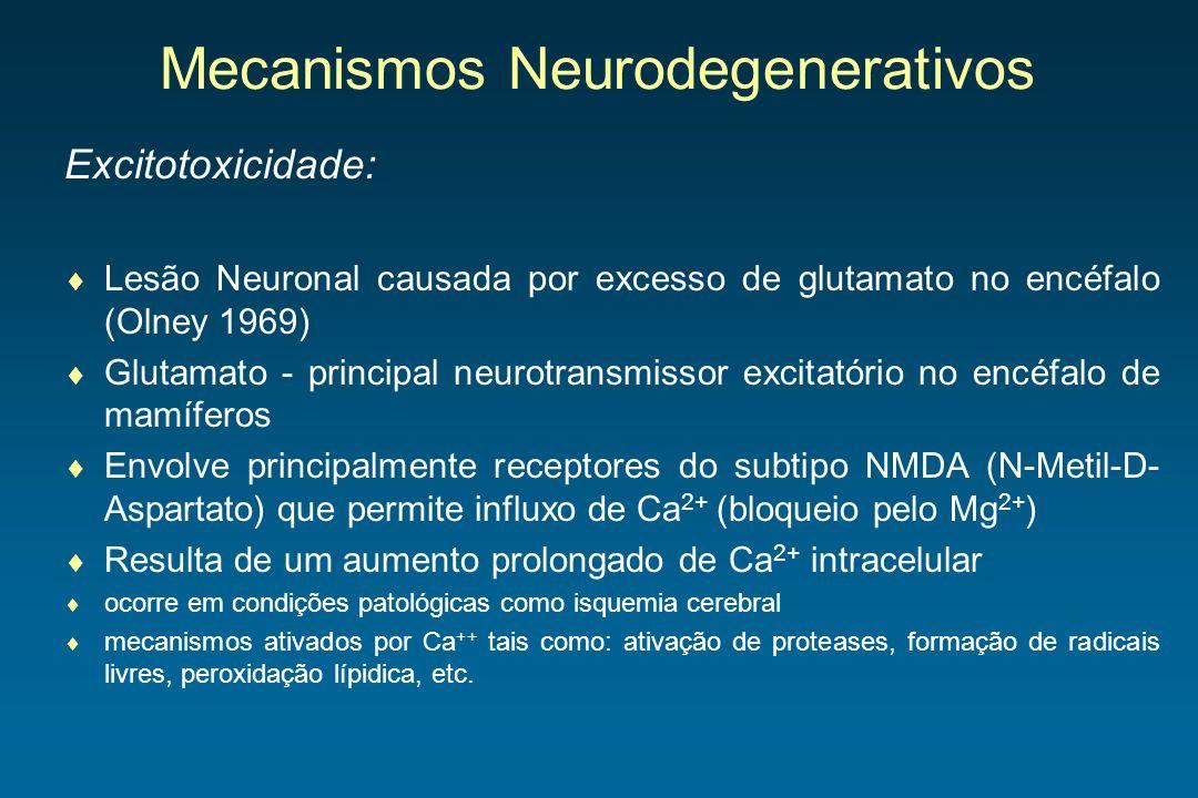 Mecanismos Neurodegenerativos