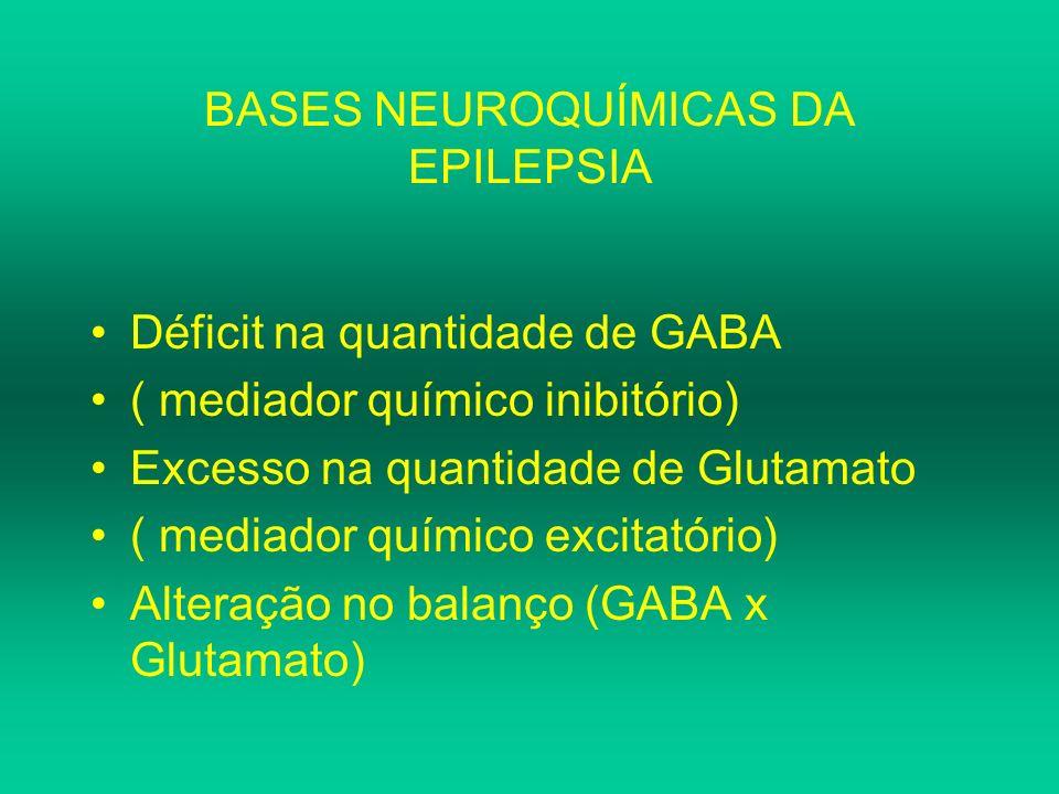 BASES NEUROQUÍMICAS DA EPILEPSIA