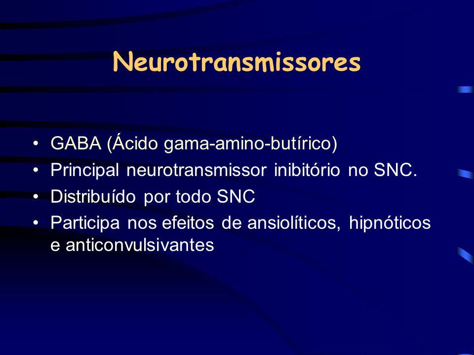 Neurotransmissores GABA (Ácido gama-amino-butírico)