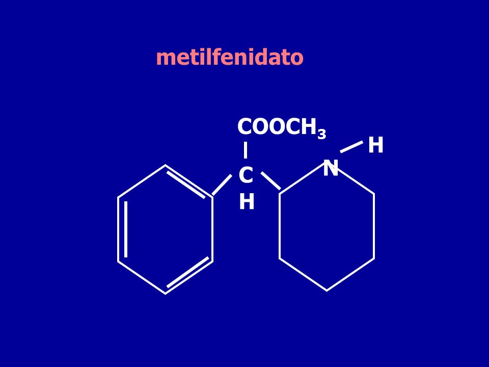 metilfenidato COOCH3 H N C H