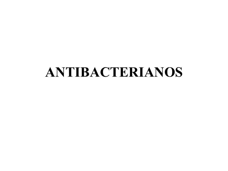 ANTIBACTERIANOS