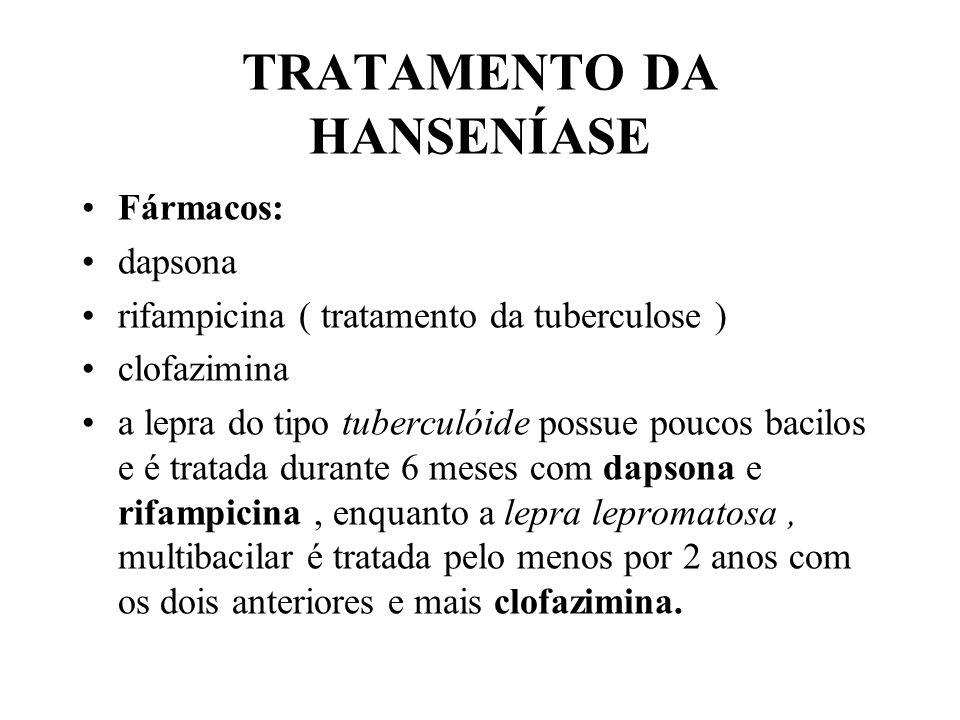 TRATAMENTO DA HANSENÍASE