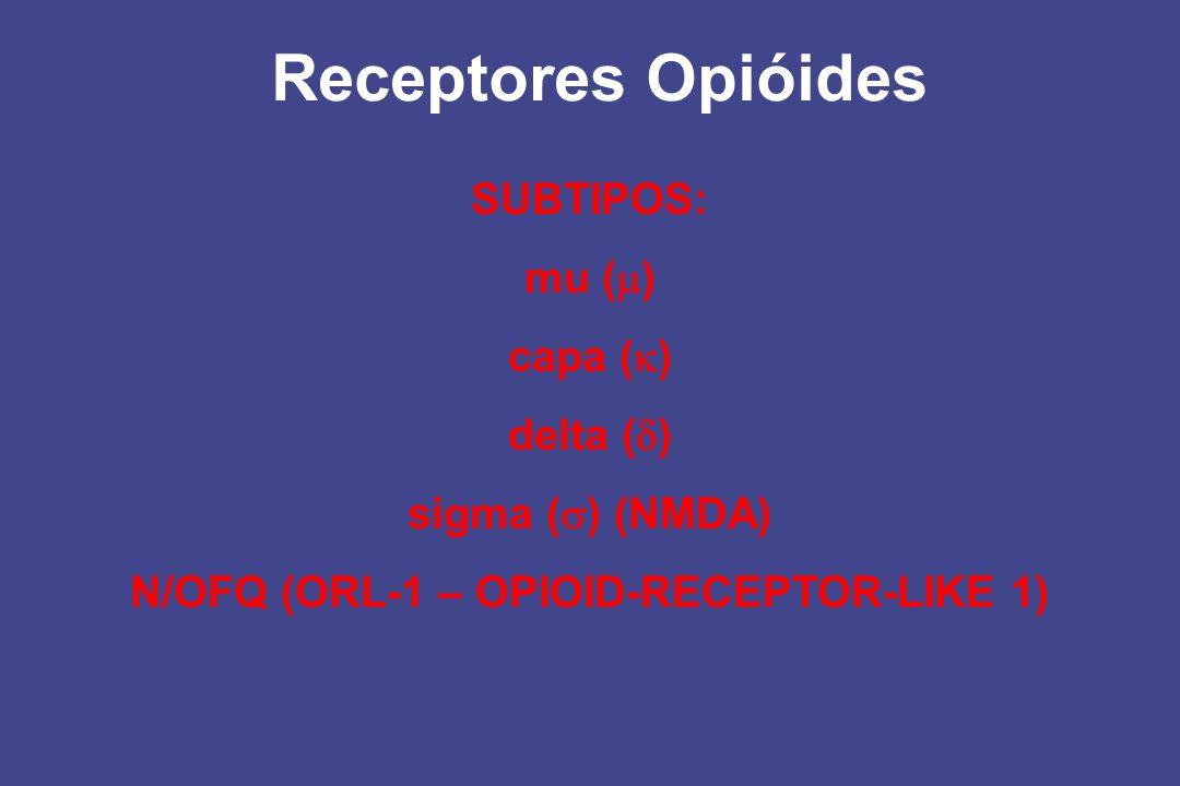 N/OFQ (ORL-1 – OPIOID-RECEPTOR-LIKE 1)