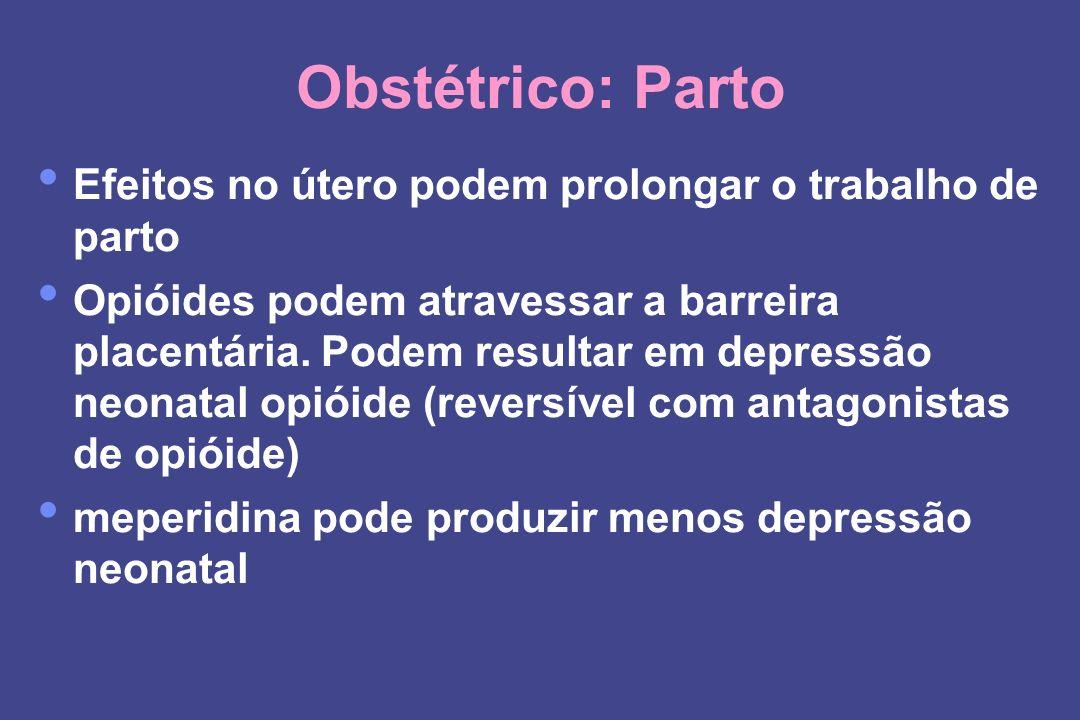 Obstétrico: Parto Efeitos no útero podem prolongar o trabalho de parto