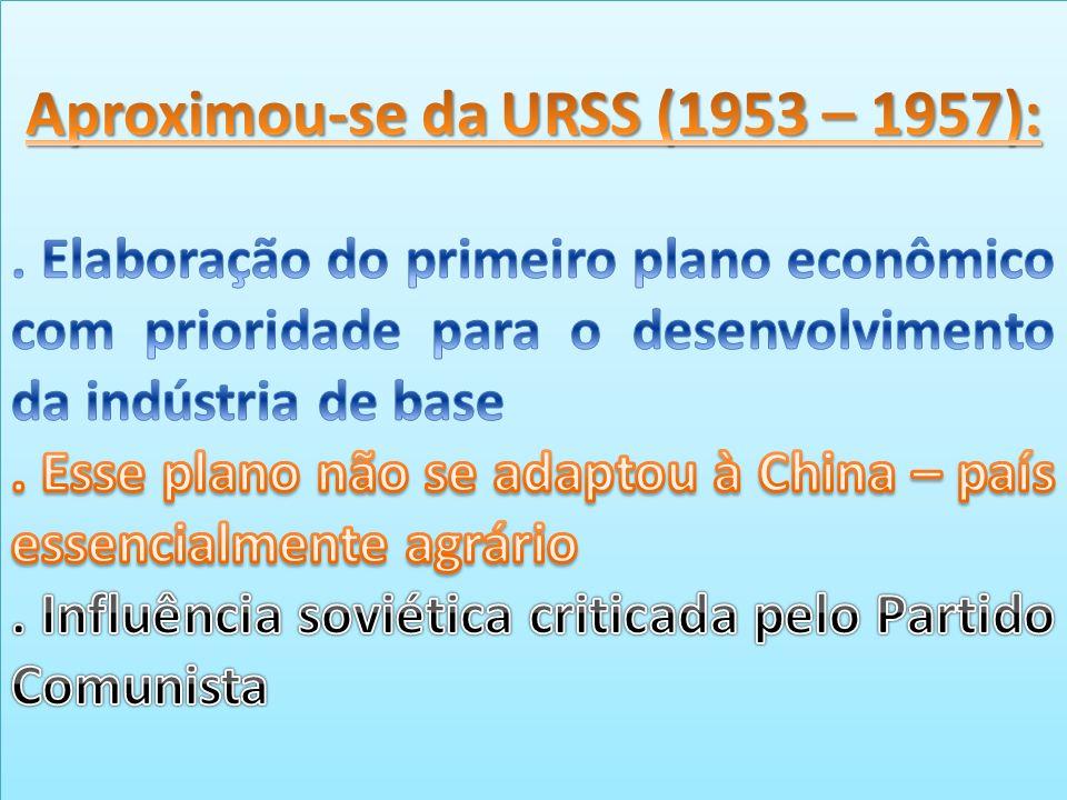 Aproximou-se da URSS (1953 – 1957):
