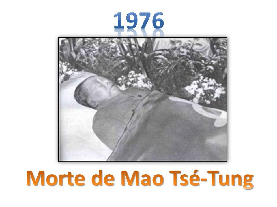 1976 Morte de Mao Tsé-Tung
