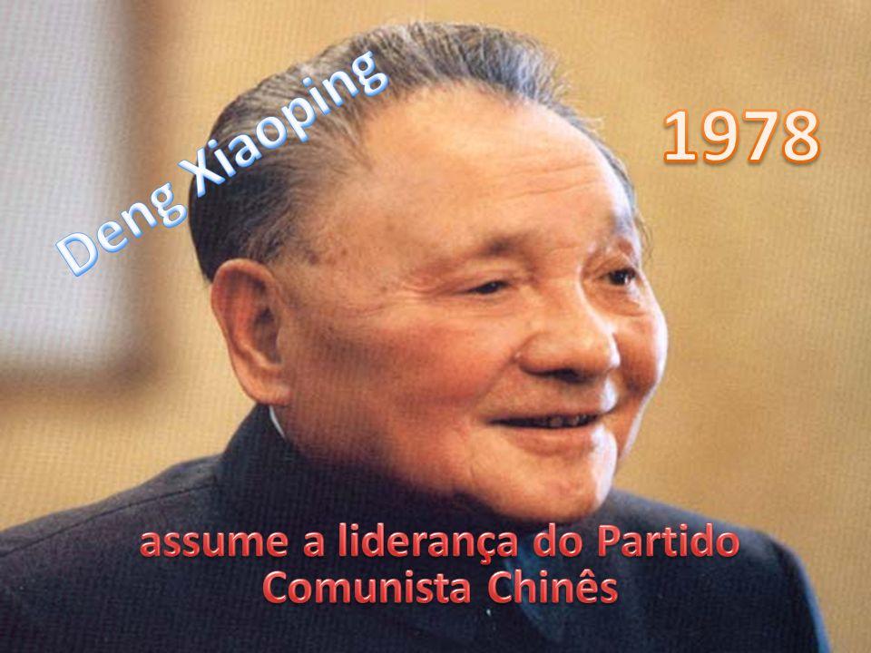 assume a liderança do Partido Comunista Chinês