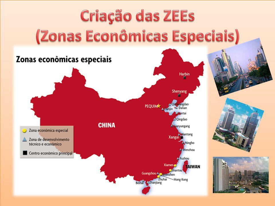 Criação das ZEEs (Zonas Econômicas Especiais)
