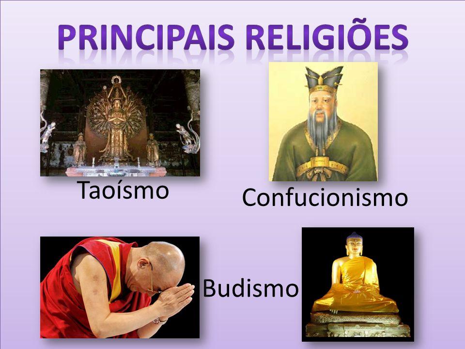 Principais Religiões Taoísmo Confucionismo Budismo