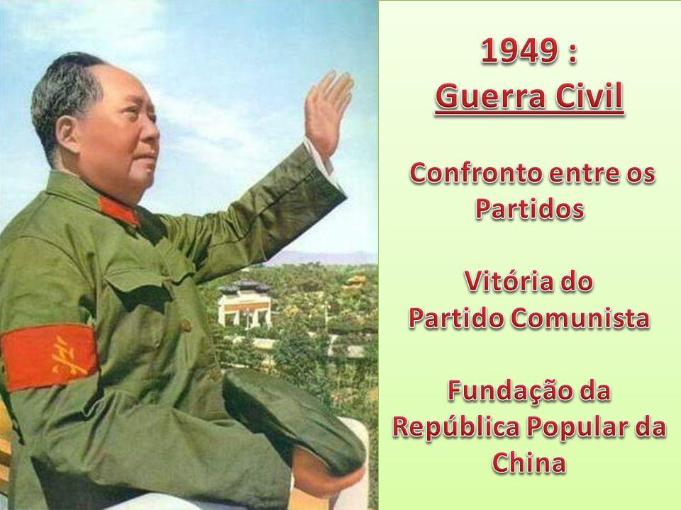 1949 : Guerra Civil Confronto entre os Partidos