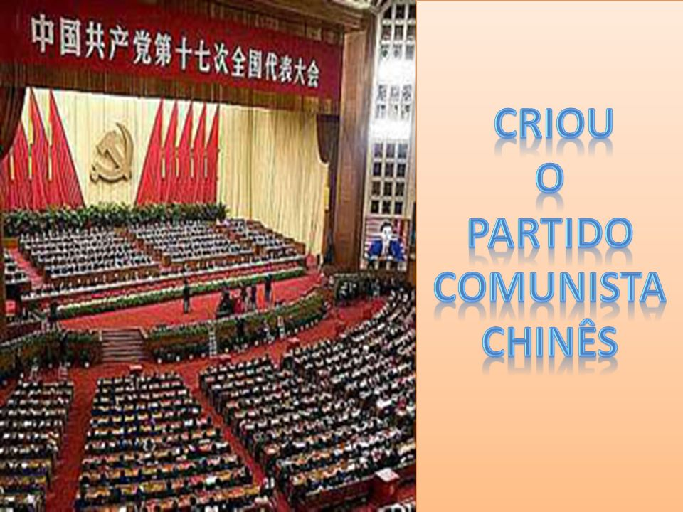 Criou o Partido Comunista Chinês