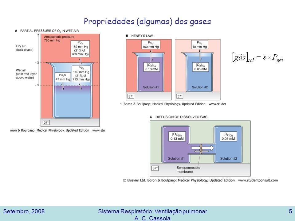 Propriedades (algumas) dos gases