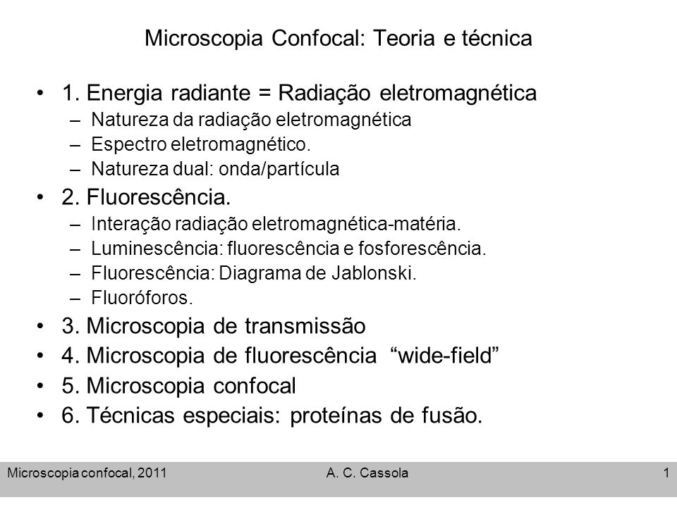 Microscopia confocal teoria e tcnica ppt video online carregar microscopia confocal teoria e tcnica ccuart Image collections