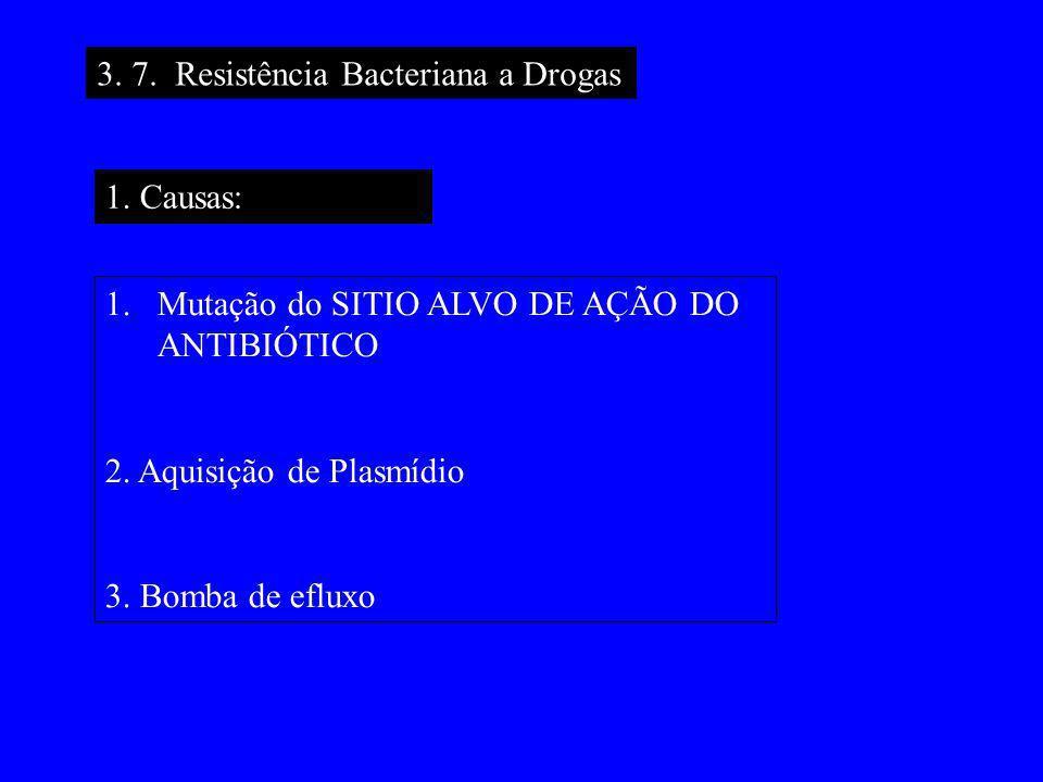 3. 7. Resistência Bacteriana a Drogas