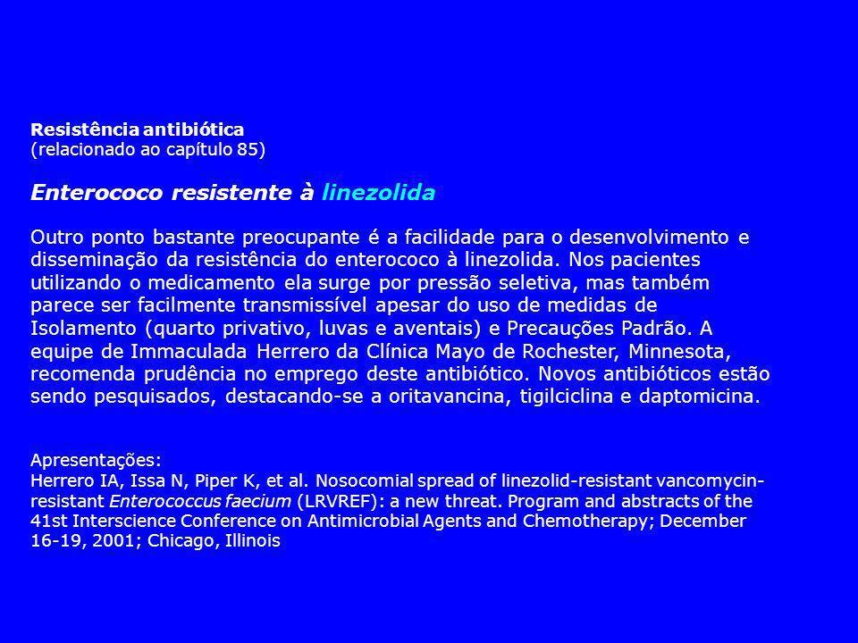 Enterococo resistente à linezolida