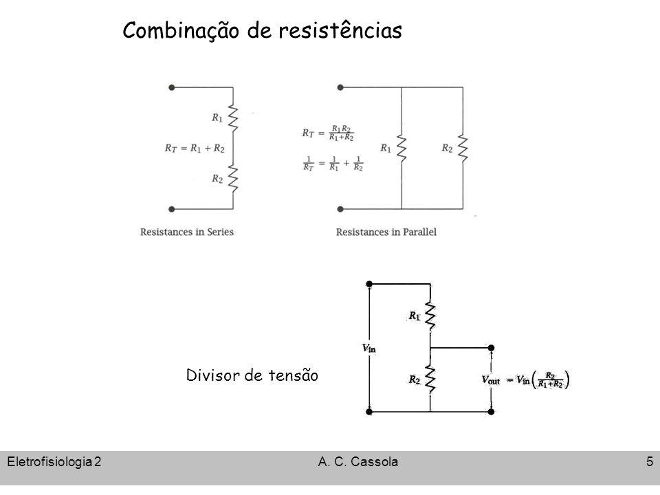 Combinação de resistências