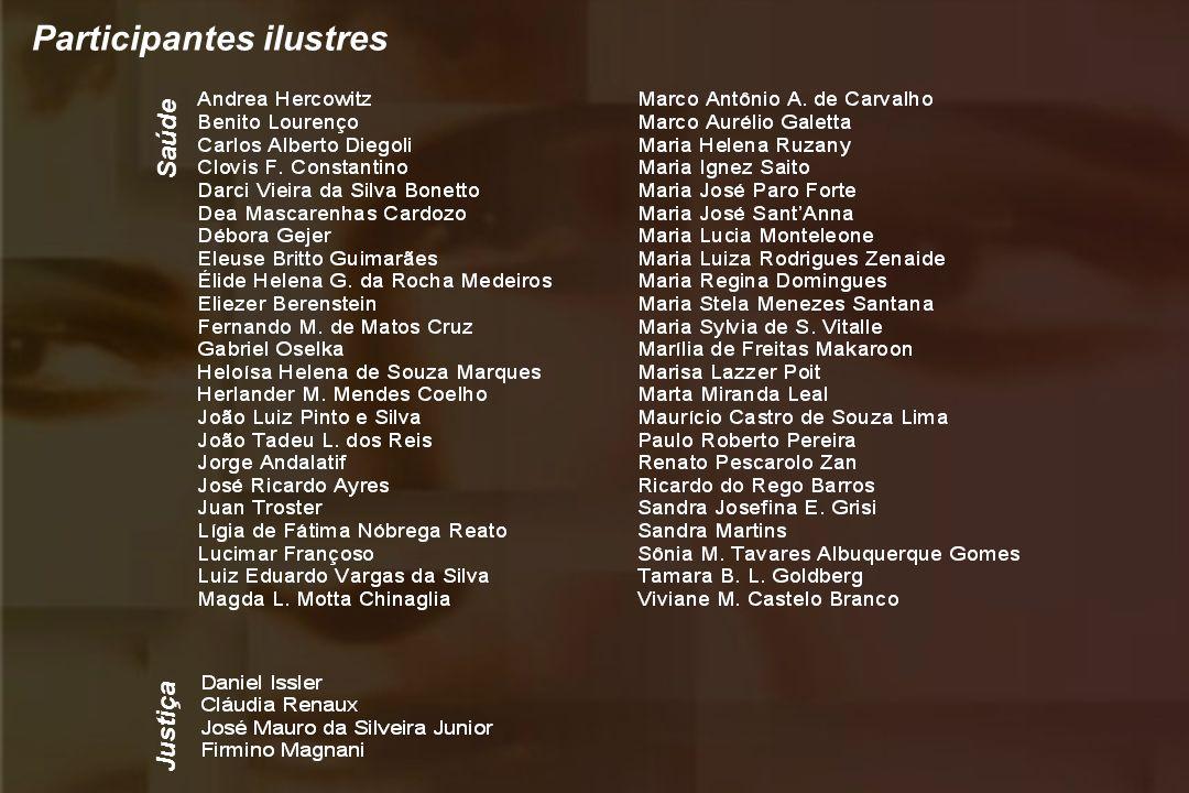 Participantes ilustres