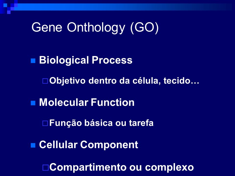 Gene Onthology (GO) Biological Process Molecular Function
