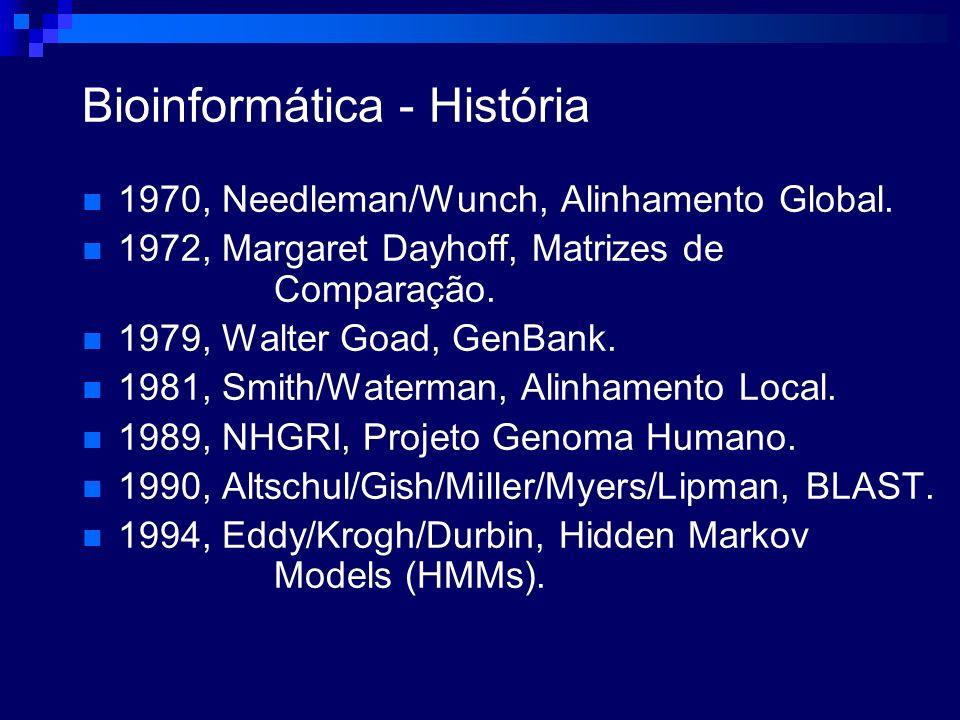 Bioinformática - História