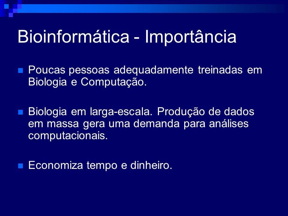 Bioinformática - Importância