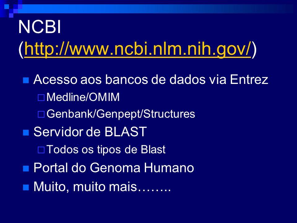 NCBI (http://www.ncbi.nlm.nih.gov/)