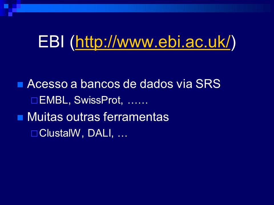EBI (http://www.ebi.ac.uk/)