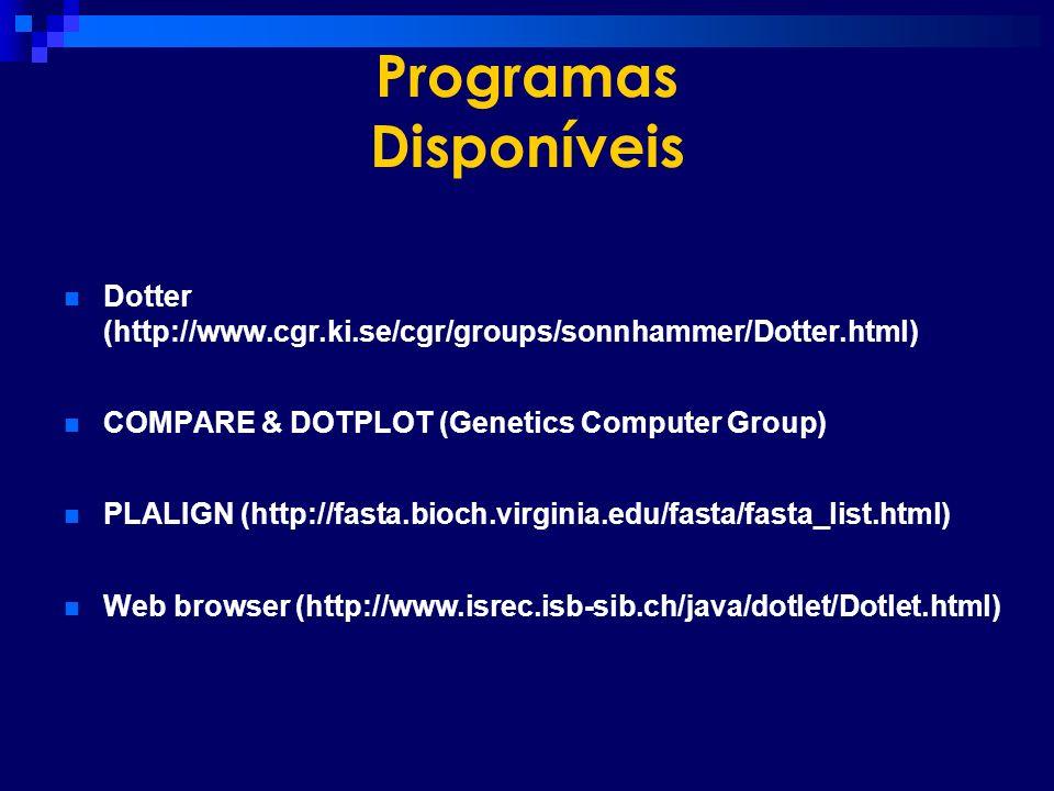 Programas Disponíveis