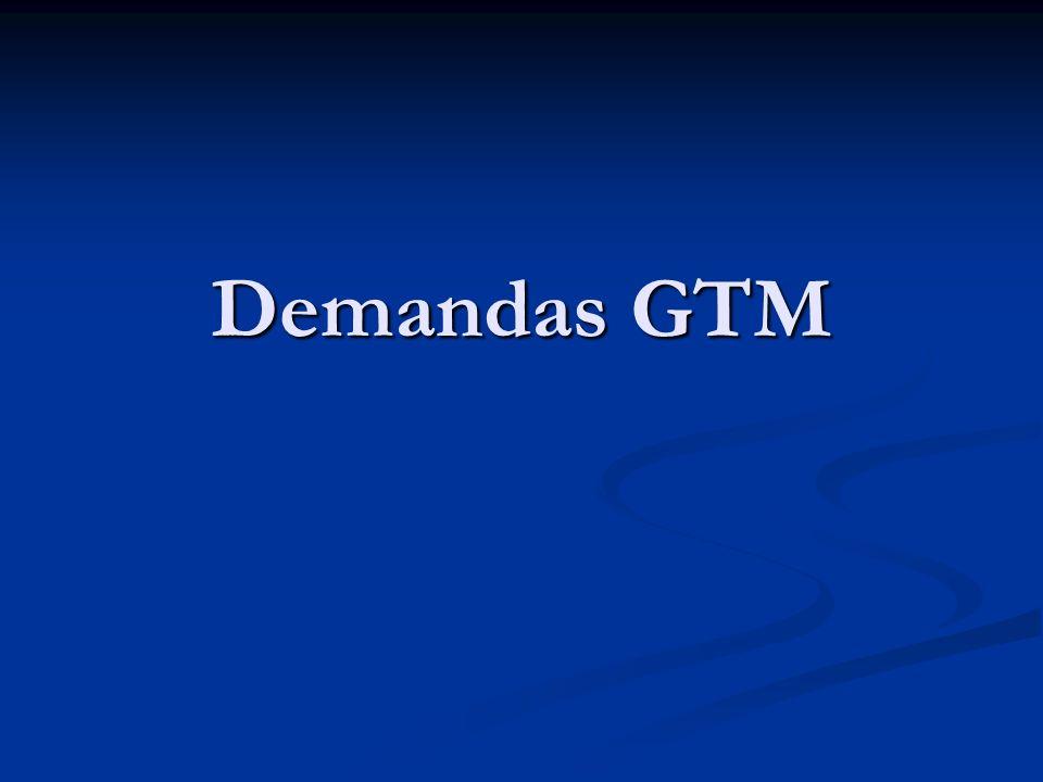 Demandas GTM