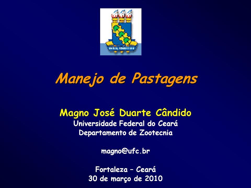 Manejo de Pastagens Magno José Duarte Cândido