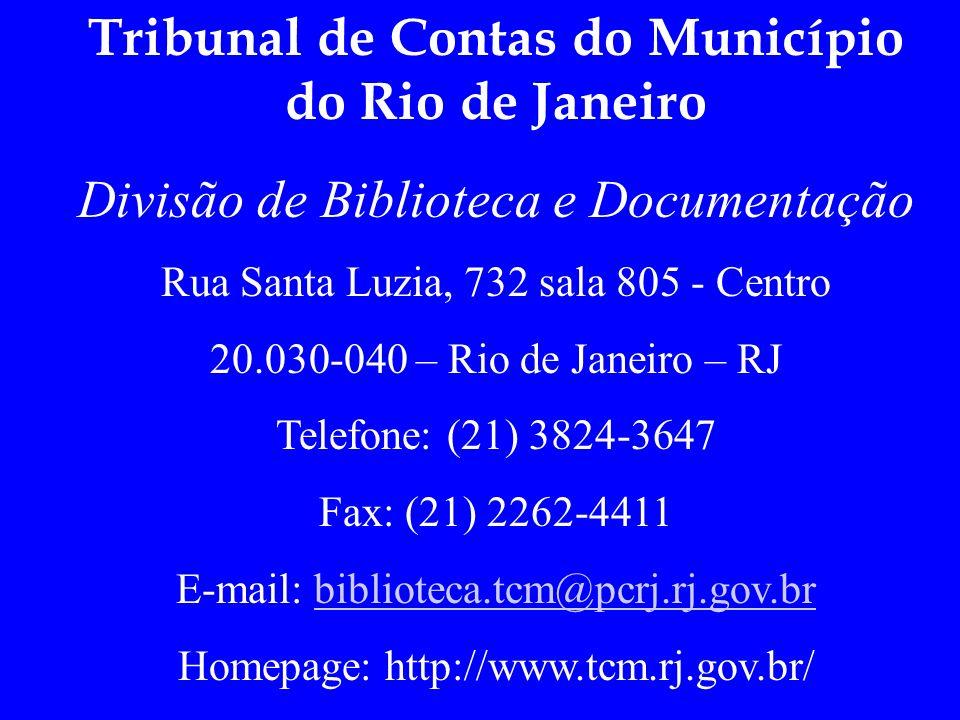 Tribunal de Contas do Município do Rio de Janeiro