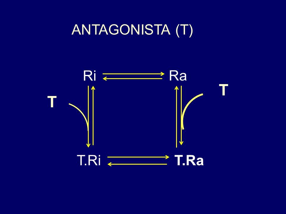 ANTAGONISTA (T) Ri Ra T T T.Ri T.Ra
