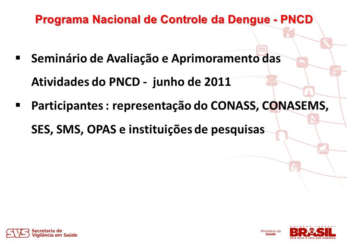 Programa Nacional de Controle da Dengue - PNCD