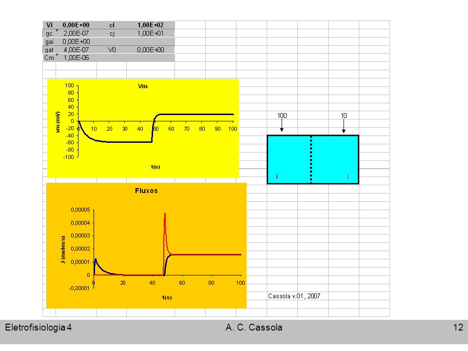 Eletrofisiologia 4 A. C. Cassola