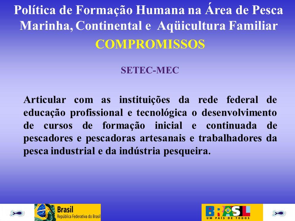 COMPROMISSOS SETEC-MEC.