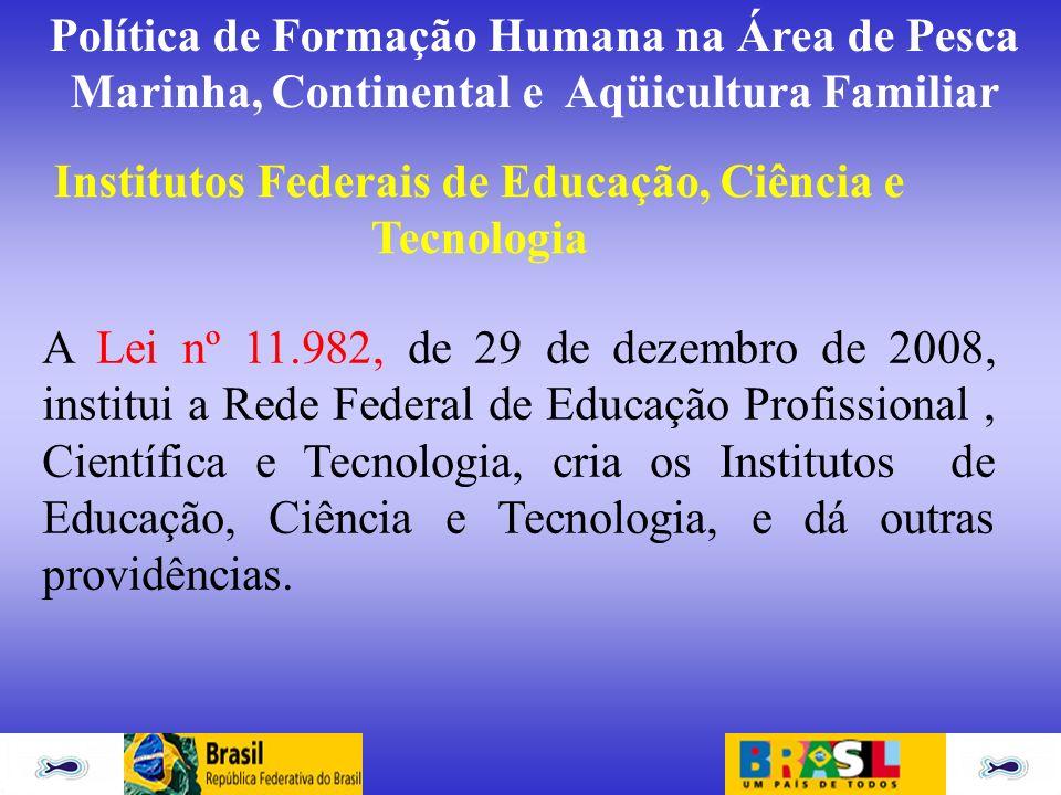 Institutos Federais de Educação, Ciência e Tecnologia