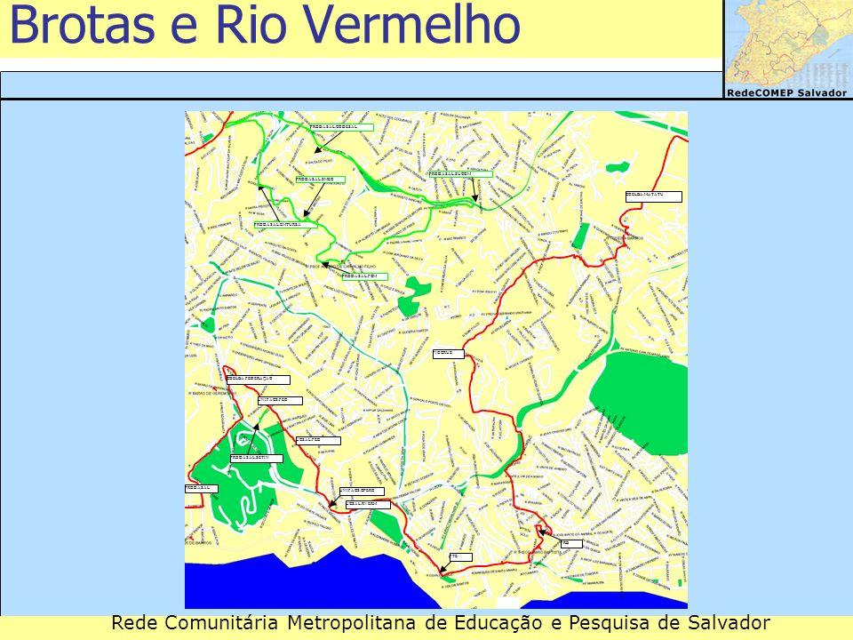 Brotas e Rio Vermelho PRODASAL.CODESAL PRODASAL.SUCOM PRODASAL.SMEC