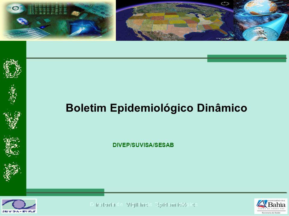 Boletim Epidemiológico Dinâmico