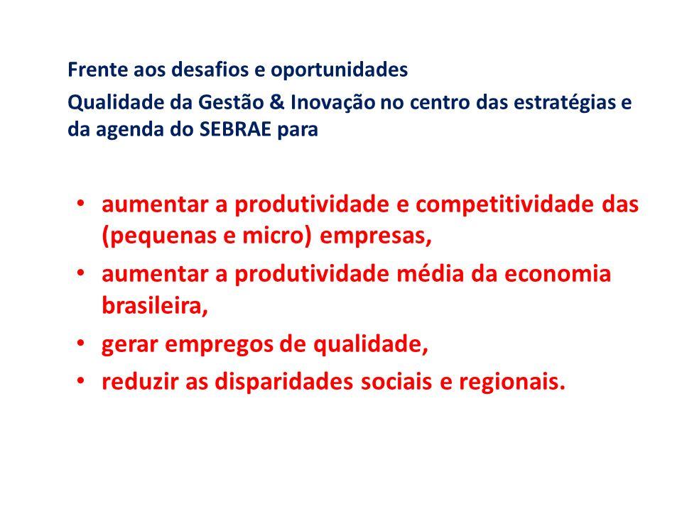 aumentar a produtividade média da economia brasileira,