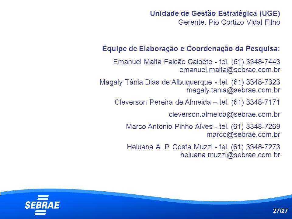 Cleverson Pereira de Almeida – tel. (61) 3348-7171
