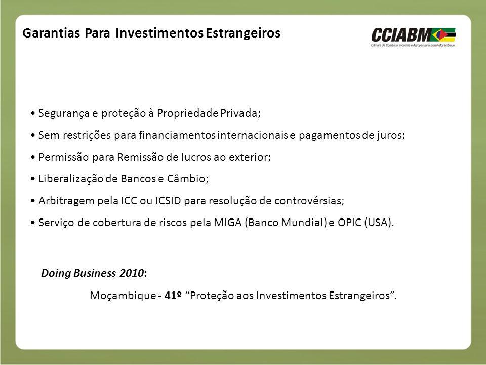 Garantias Para Investimentos Estrangeiros
