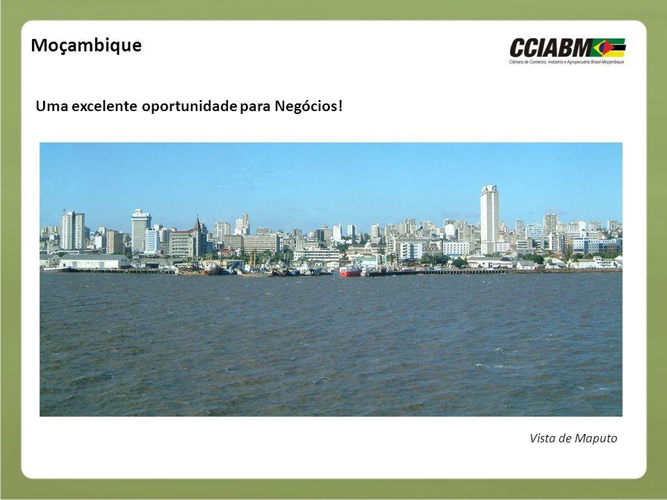 Moçambique Uma excelente oportunidade para Negócios! Vista de Maputo