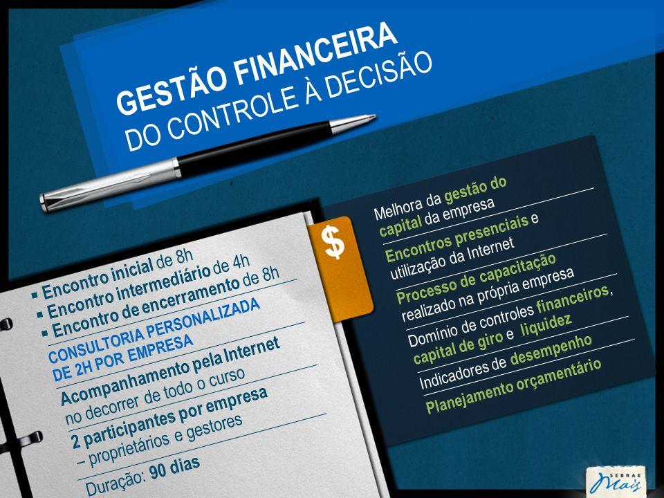 GESTÃO FINANCEIRA DO CONTROLE À DECISÃO