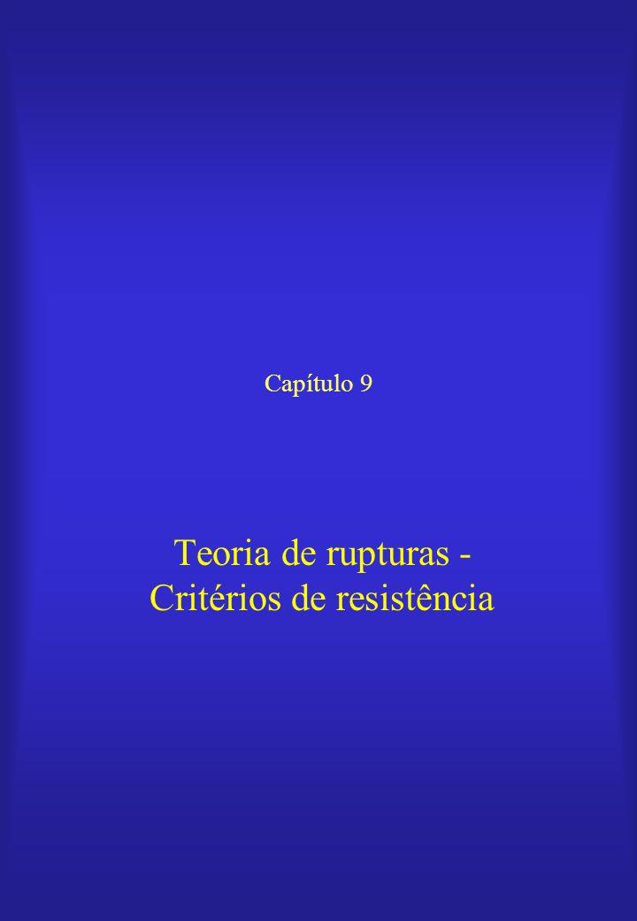 Teoria de rupturas - Critérios de resistência